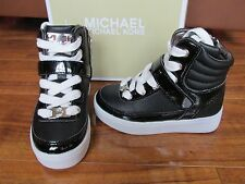 NEW MICHAEL KORS IVY MAE-T HI TOP SNEAKERS BOOTS SHOES TODDLER GIRLS 9