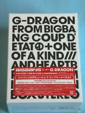 G-DRAGON COUP D'ETAT + ONE OF A KIND & HEARTBREAKER CD DVD PHOTO BOOK GOODS