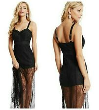 🌸🌸 $298 EXCLUSIVE GUESS BY MARCIANO BLACK LACE MAXI GOWN 🌸🌸