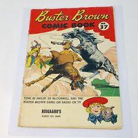 1954 Buster Brown 37 Shoe Store Promo Comic Book Bisgaard's Albert Lea MN