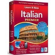 Avanquest Learn It Now Language Learning Software - Italian