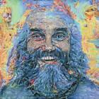 LIMITED PRINT Ram Dass Alpert Psychonaut Psychedelic Portrait Painting Wall Art