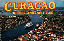 Curaçao Niederlande Nederland Antilles ~1960/70 MS Southward Harbor Hafen Schiff