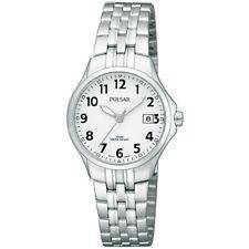 Pulsar Damen Edelstahl Armband Datum Armbanduhr - PH7221X1 Pnp