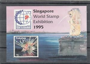 Tokelau Island Stamps. World Stamp Exhibition.Singapore 1995