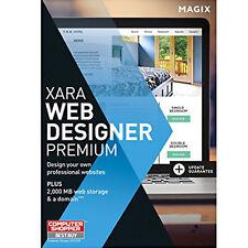 Xara Web Designer Premium 15 by Magix - Latest edition 2016 - Download