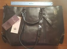 New Female Black PU Leather Shoulder Hand Crossbody Leather Fashion Handbag