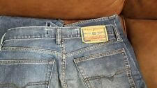 Diesel Industry Mens Blue Button Fly Jeans Size 32 USA Made