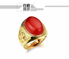 Oval Agate Costume Rings