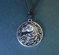 Celtic Wild Horse Pendant Necklace