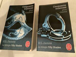Livres «Cinquante nuances plus sombres» «Cinquante nuances plus claire»