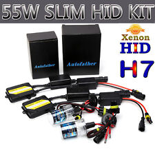 55W AC CANBUS HID XENON H7 LIGHT BULB KIT NO FLICKER NO ERROR SHOW ON DASH 8000K