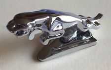 CHROME JAGUAR LEAPING CAT BADGE EMBLEM for BONNET HOOD of JAGUAR XF XK XJR J