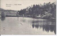 636 Gschwend Neuer Badsee 1915 Ansichtskarte Baden Württemberg selten