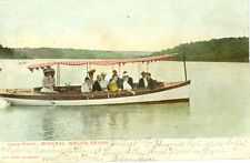 Mineral Wells, TX  A 1906 Boating Day on Lake Pinto