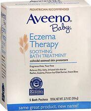 Aveeno Baby Eczema Soothing Bath Treatment 5 pack