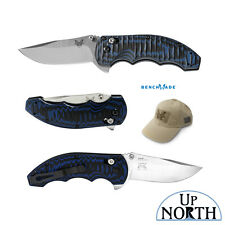 BENCHMADE 300-1 AXIS Flipper Folding Knife 154CM Stainless Steel Blade FREE HAT