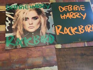 "Debbie Harry ""Rockbird"" Promotional Display ""Flats"" Set of 2"