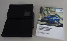 Owner's Manual + Cartera 3-Series BMW Gran Turismo F34/X-Drive Desde 2016