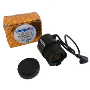 "Computar TG2Z3514FCS Lens Varifocal 3,5/8MM F1, 4 1/3 "" Autoiris"