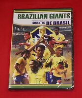 BRAZILIAN GIANTS Gigantes De Brasil BRAND NEW DVD Soccer Ronaldo Pele Garrinda