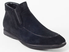 New Baldinini Black Suede Leather Made in Italy Boots Size 41.5 US 8.5