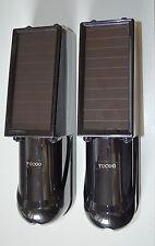 100m Infrared Beam Detector,Wireless Solar Infrared Sensor.Perimeter Alarm.DA25