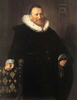 Huge Oil painting Frans Hals - Portrait of A man standing canvas handpainted