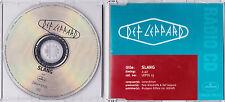 Def Leppard - Slang - Scarce 1 track promo CD