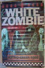 WHITE ZOMBIE Astro-Creep 2000 PROMO POSTER ©1995 * Rob Zombie