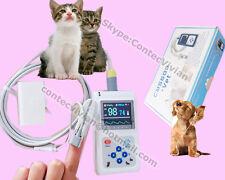 2018 New Veterinary Finger Pulse Oximeter SPO2 Pulse Rate VET probe PC Software