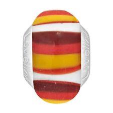 Lovelinks Bead Sterling Silver, Murano Glass  Multicolor Charm Jewelry TM340