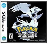 Pokemon: Black Version (Nintendo DS, 2011) Brand New