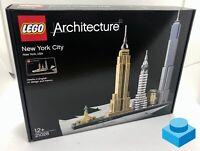 LEGO Architecture 21028  •  New York City  •  NEU & OVP