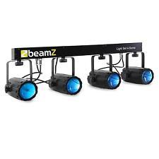 4-FACH RGBW LED T-BAR LICHT EFFEKT ANLAGE MOONFLOWER STRAHLER LICHTEFFEKT SET