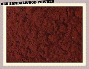 INDIA : 100 % Pure & Natural Red Sandalwood Powder / Lal Chandan PREMIUM QUALITY