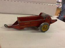 Vintage Dinky Toys cast metal Massey Harris Manure Spreader #321