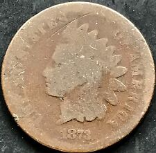 USA 1873 Indian Head Cent Penny Kupfer Selten One US Cent 4480