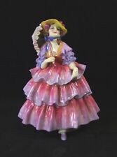 Royal Doulton Figurine - 'The Hinged Parasol' - HN1579 - Made in England.