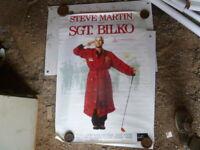 SGT BILKO STEVE MARTIN  1 SHEET MOVIE POSTER AUST EDITION