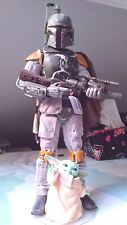 HOT TOYS STAR WARS BOBA FETT 1/6 SPECIAL EDITION (Deluxe) 30 ème anniversaire.