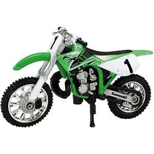 Ray MX Kawasaki KX250 1:32 Off Road Dirt Bike Toy