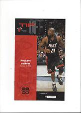 NBA - Programm: MIAMI HEAT - HOUSTON ROCKETS  06.01.2000
