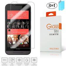 3x Nacodex For HTC Desire 520 Premium Tempered Glass Screen Protector Film HD