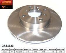 Disc Brake Rotor fits 1999-2007 Suzuki Aerio Esteem  BEST BRAKES USA