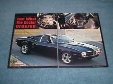 1967 Pontiac Firebird Convertible G-Machine Article Just What the Doctor Ordered