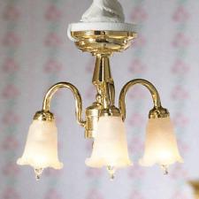 Dolls House Emporium 1/12th scale Three Hanging Tulip Light 7419 New
