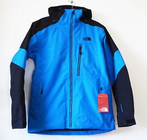 The North Face Men's FOURBARREL Insulated DryVent Ski Jacket Hyper Blue Black M
