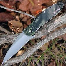 Couteau Kershaw Leek Camo A/O Acier 14C28N Manche 6061-T6 Alu USA KS1660CAMO