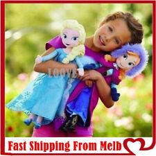 40cm Disney Frozen 2 Elsa Anna Adventure Doll Plush Toy soft gift Xmas Girl Quee